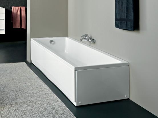 Kolpa San - Figaro 170x75 egyenes fürdőkád