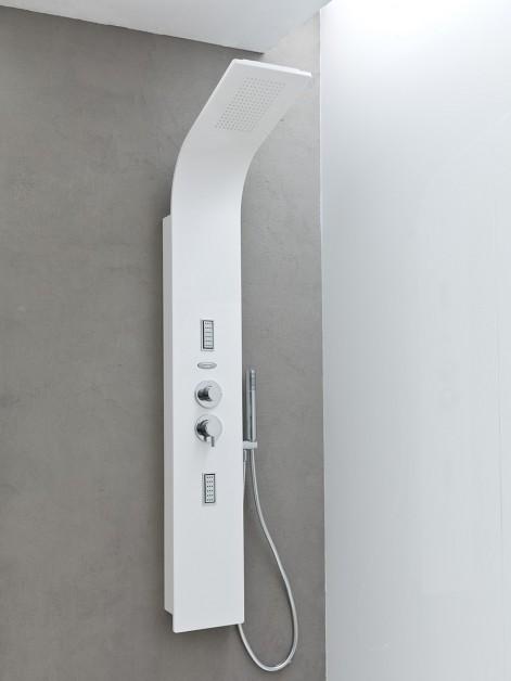 Kolpa San - Zonda 1500 3F Fehér masszázspanel zuhanykabinba